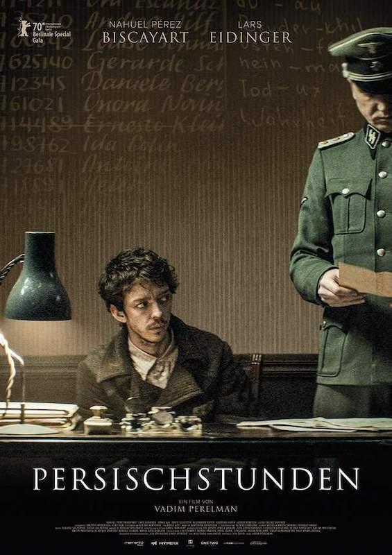 Filmplakat Persischstunden - der-filmgourmet.de
