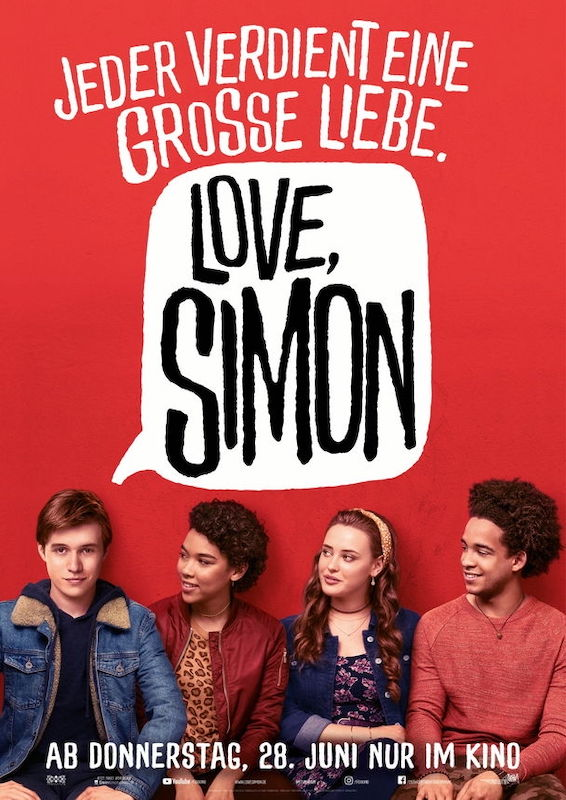 Filmkritik Love, Simon - der-filmgourmet.de